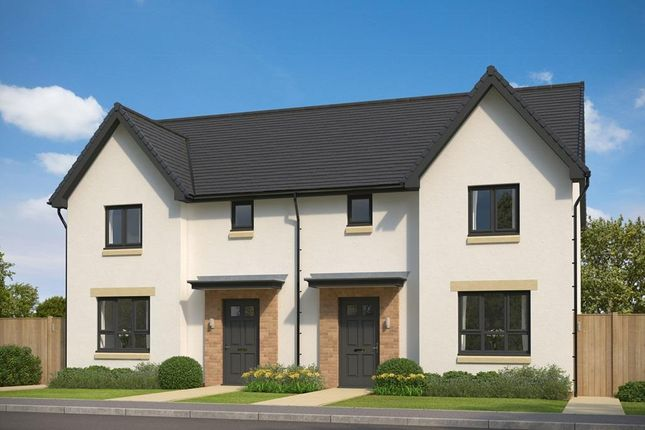 "Thumbnail Semi-detached house for sale in ""Craigend"" at Gilmerton Station Road, Edinburgh"