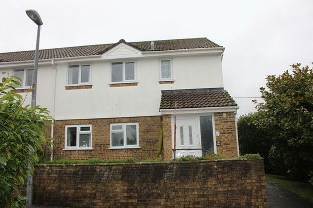 Thumbnail Flat for sale in Trevarrick Road, St. Austell