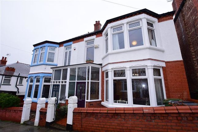 Thumbnail Semi-detached house for sale in Onslow Road, Wallasey, Merseyside