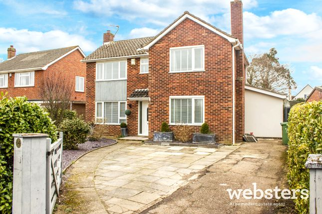 Thumbnail Detached house for sale in Constable Road, Norwich