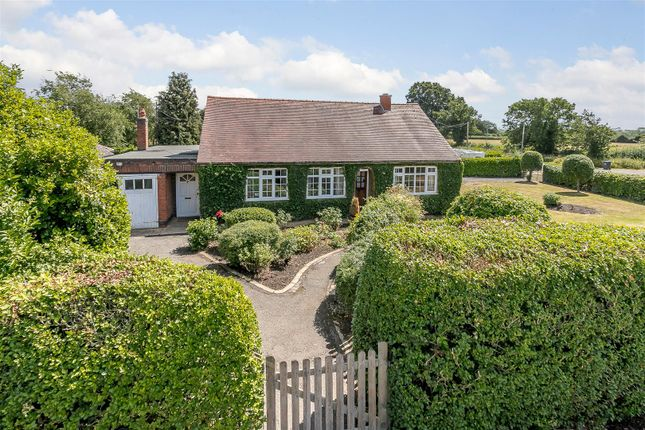 Thumbnail Detached bungalow for sale in Harborough Magna, Rugby, Warwickshire