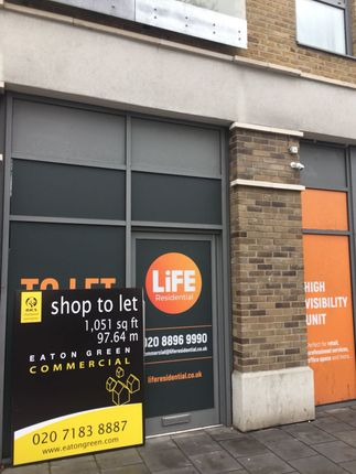 Thumbnail Commercial property to let in Commercial Road, London