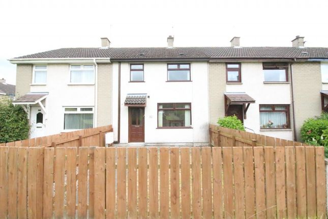 Thumbnail Terraced house to rent in Tobergill Gardens, Dunadry, Antrim