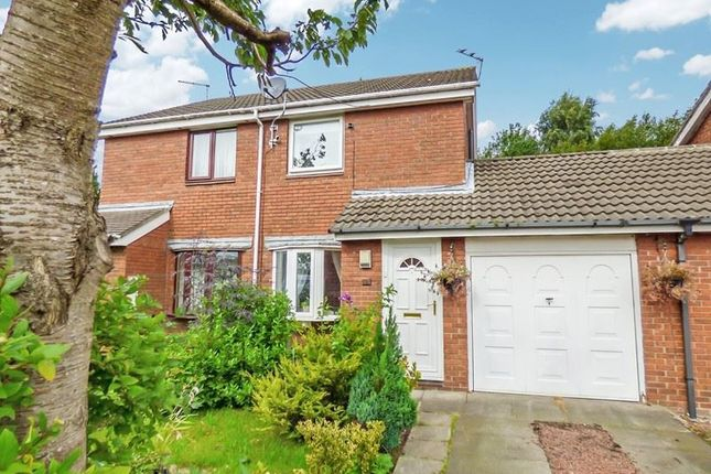2 bed semi-detached house to rent in Castle Way, Pegswood, Morpeth NE61