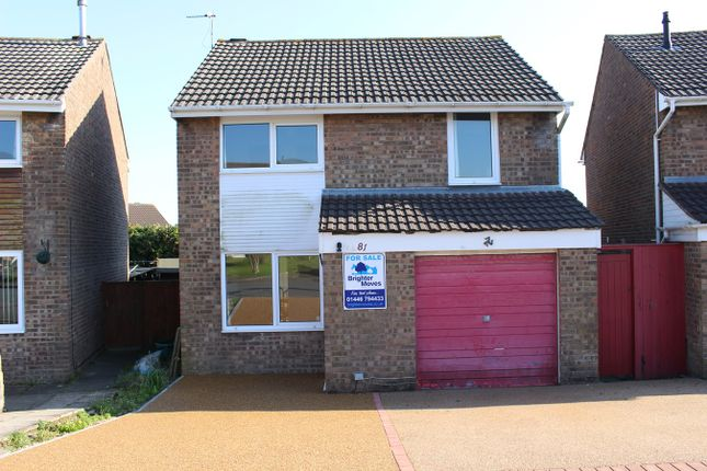 Thumbnail Detached house for sale in Monmouth Way, Boverton, Llantwit Major