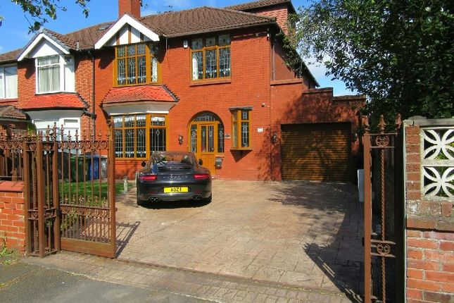 Semi-detached house for sale in Seymour Grove, Old Trafford, Manchester