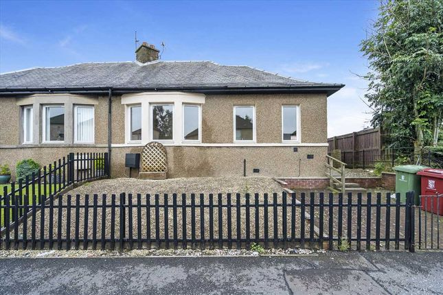 Thumbnail Bungalow for sale in Wilson Road, Camelon, Falkirk