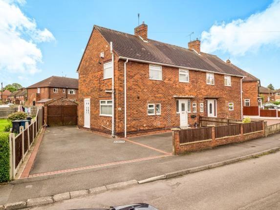 Thumbnail Semi-detached house for sale in Ling Crescent, Ruddington, Nottingham, Nottinghamshire