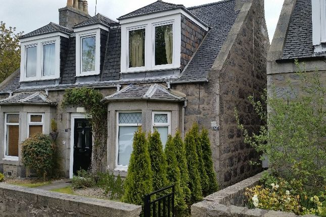 Thumbnail Semi-detached house to rent in Orchard Place, Old Aberdeen, Aberdeen