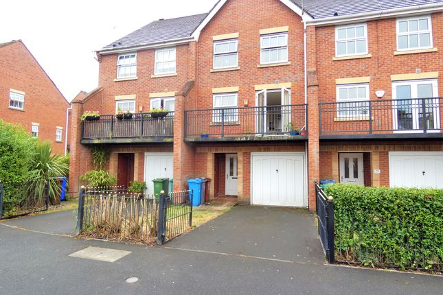 Thumbnail Town house for sale in Brantingham Road, Chorlton Cum Hardy, Manchester