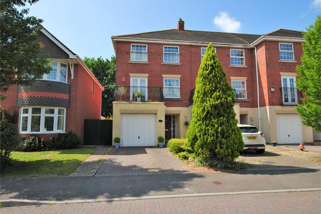 Thumbnail End terrace house to rent in Cambrian Drive, Marshfield, Cardiff