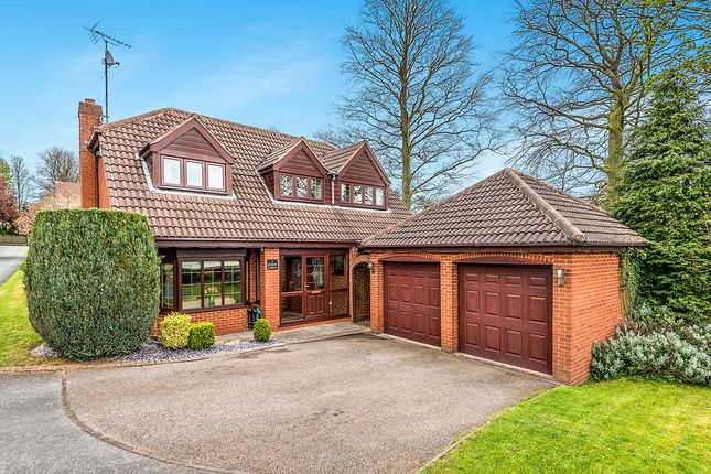 Thumbnail Detached house for sale in Shoal Hill Close, Cannock