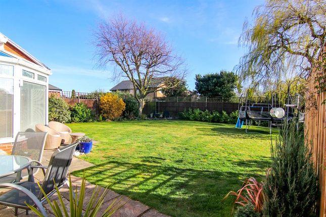 Garden of Thornton Crescent, Gayton, Wirral CH60