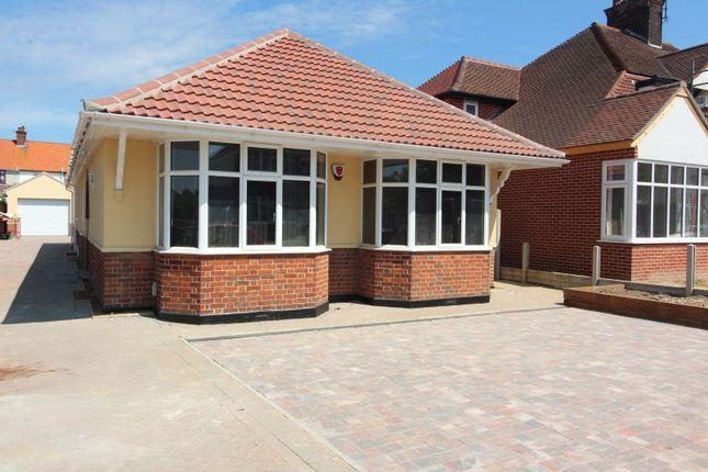 Thumbnail Detached bungalow to rent in Bendish Avenue, Gorleston