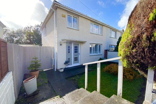 Thumbnail Semi-detached house for sale in Llwyn-Onn, Penderyn, Aberdare, Mid Glamorgan