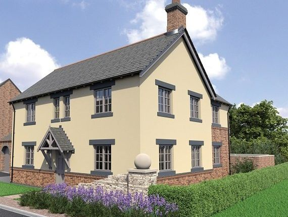 Thumbnail Detached house for sale in Leicester Road, New Packington, Ashby-De-La-Zouch