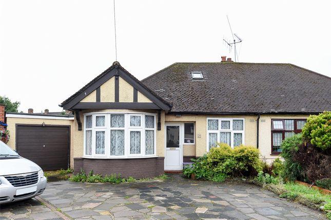 Thumbnail Semi-detached bungalow for sale in Hammond Avenue, Mitcham, Surrey