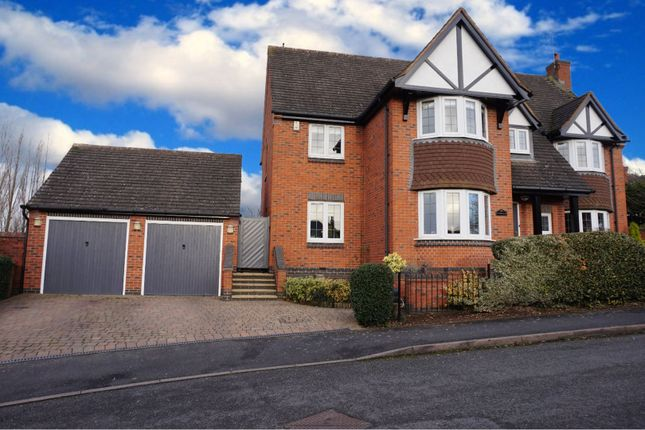 Thumbnail Detached house for sale in Coppicewood Drive, Littleover