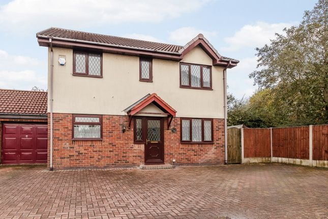 Thumbnail Link-detached house for sale in Firecrest Close, Manchester, Greater Manchester