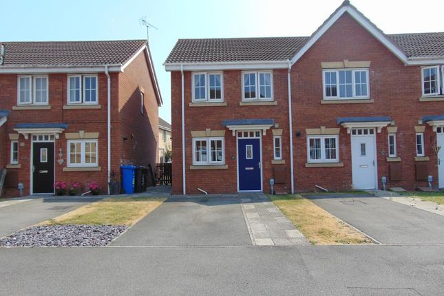 Thumbnail End terrace house for sale in Acasta Way, Marfleet Lane, Hull