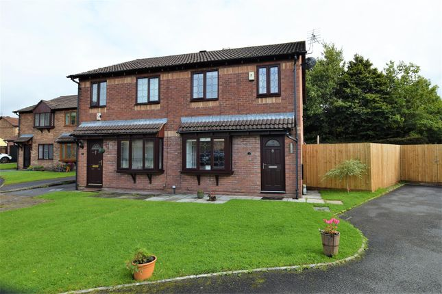 Thumbnail Semi-detached house for sale in Fitzwilliam Close, Cross Inn, Pontyclun