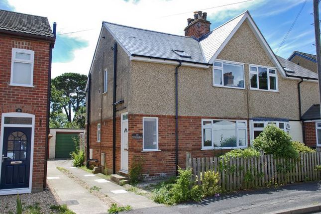 Thumbnail Semi-detached house to rent in Lymington, Hampshire
