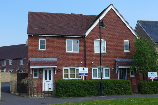 Semi-detached house to rent in Marlott Road, Gillingham