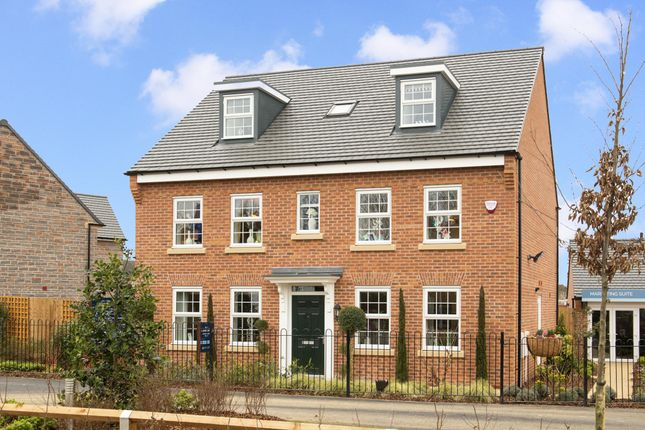 "Thumbnail Detached house for sale in ""Buckingham"" at Main Road, Earls Barton, Northampton"