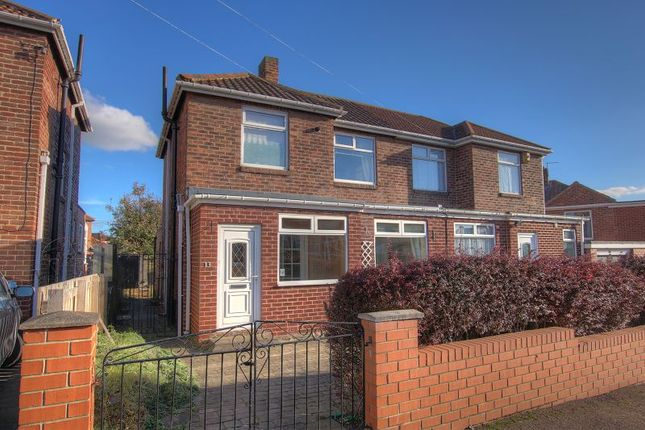 Thumbnail Semi-detached house for sale in Highwood Road, Newcastle Upon Tyne