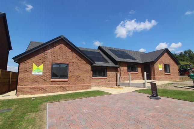 Thumbnail Semi-detached bungalow for sale in Hopton Park, Nesscliffe, Shrewsbury