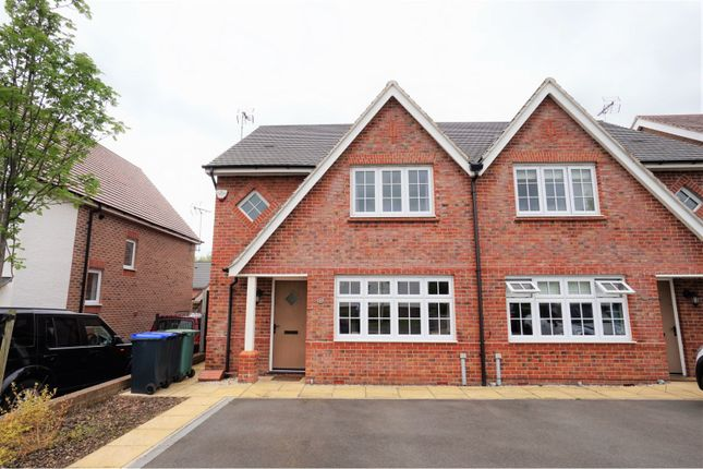 Thumbnail Semi-detached house for sale in Boehm Drive, Alcester