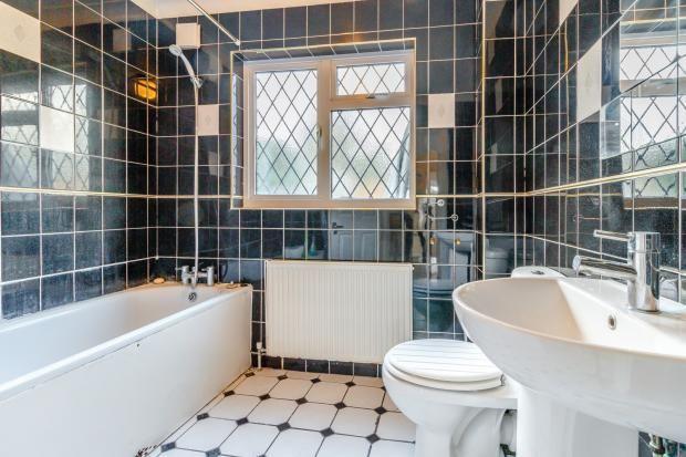 Bathroom of New Haw, Addlestone, Surrey KT15