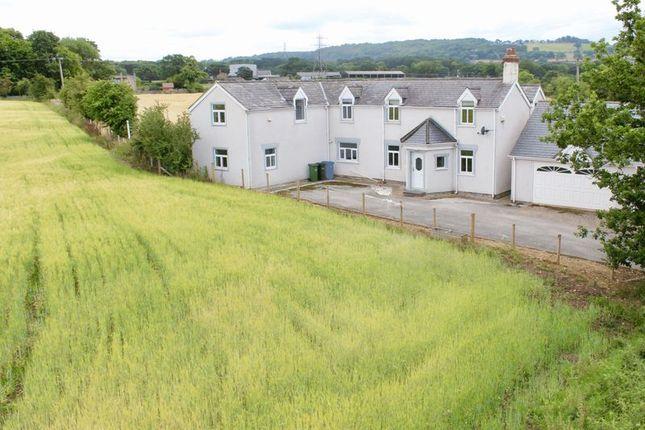Thumbnail Detached house for sale in Cwttir Lane, St. Asaph