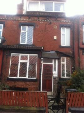 Thumbnail Terraced house to rent in Cross Flatts Street, Beeston
