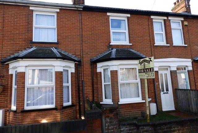 Thumbnail Terraced house for sale in Stradbroke Road, Ipswich