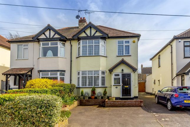 Thumbnail Semi-detached house for sale in Roman Road, Mountnessing, Brentwood