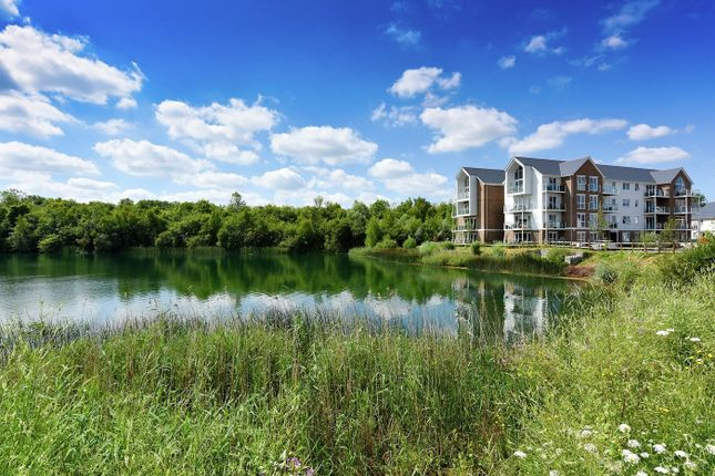 Thumbnail Flat for sale in Holborough Lakes, Manley Boulevard, Snodland, Kent