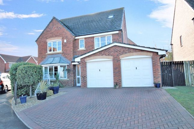 Thumbnail Detached house for sale in Rosedale Close, Skelton-In-Cleveland, Saltburn-By-The-Sea