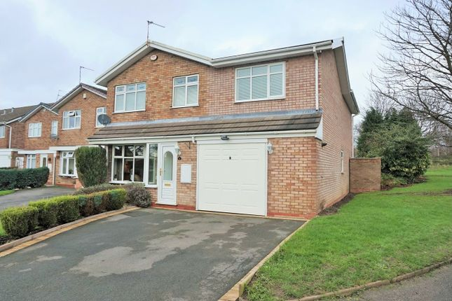 Thumbnail Detached house for sale in Ensbury Close, Willenhall