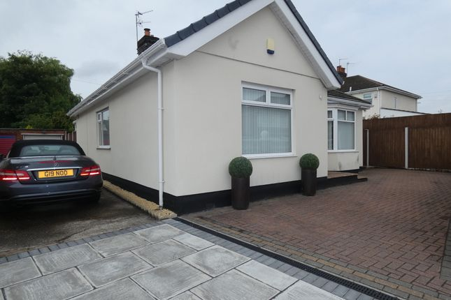 Thumbnail Bungalow for sale in Mackets Lane, Hunts Cross, Liverpool
