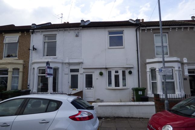 Thumbnail Terraced house to rent in Nelson Avenue, Portsmouth