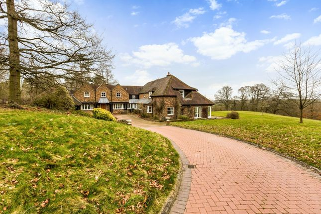 Thumbnail Detached house to rent in Webbs Lane, Beenham, Reading