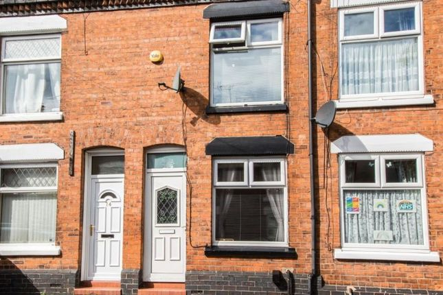 Thumbnail Terraced house to rent in Chetwode Street, Crewe