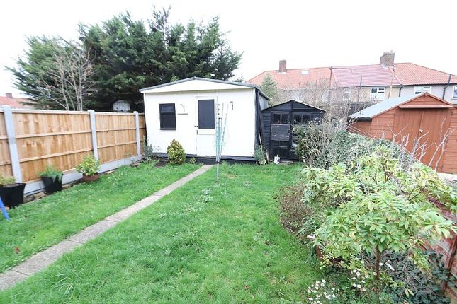 Outside of Becontree Avenue, Romford, Essex RM8