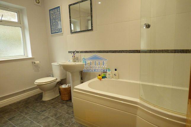 Bathroom of St. John Street, Ogmore Vale, Bridgend. CF32