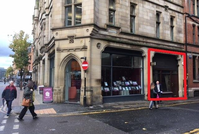 Thumbnail Retail premises to let in 4 Ridgefield, Manchester