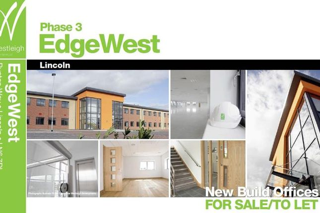 Thumbnail Commercial property to let in Edge West Office Park, Ruston Way, Lincoln, Lincolnshire