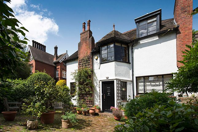 Thumbnail Semi-detached house for sale in Netherhall Gardens, Hampstead
