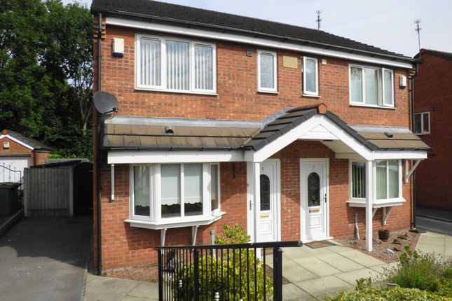 Thumbnail Semi-detached house to rent in Swallow Court, Eccleston