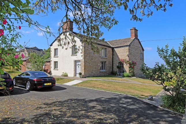 Thumbnail Farmhouse for sale in Leek Old Road, Sutton, Macclesfield